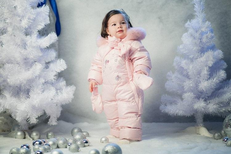 детский зимний комбинезон gnk