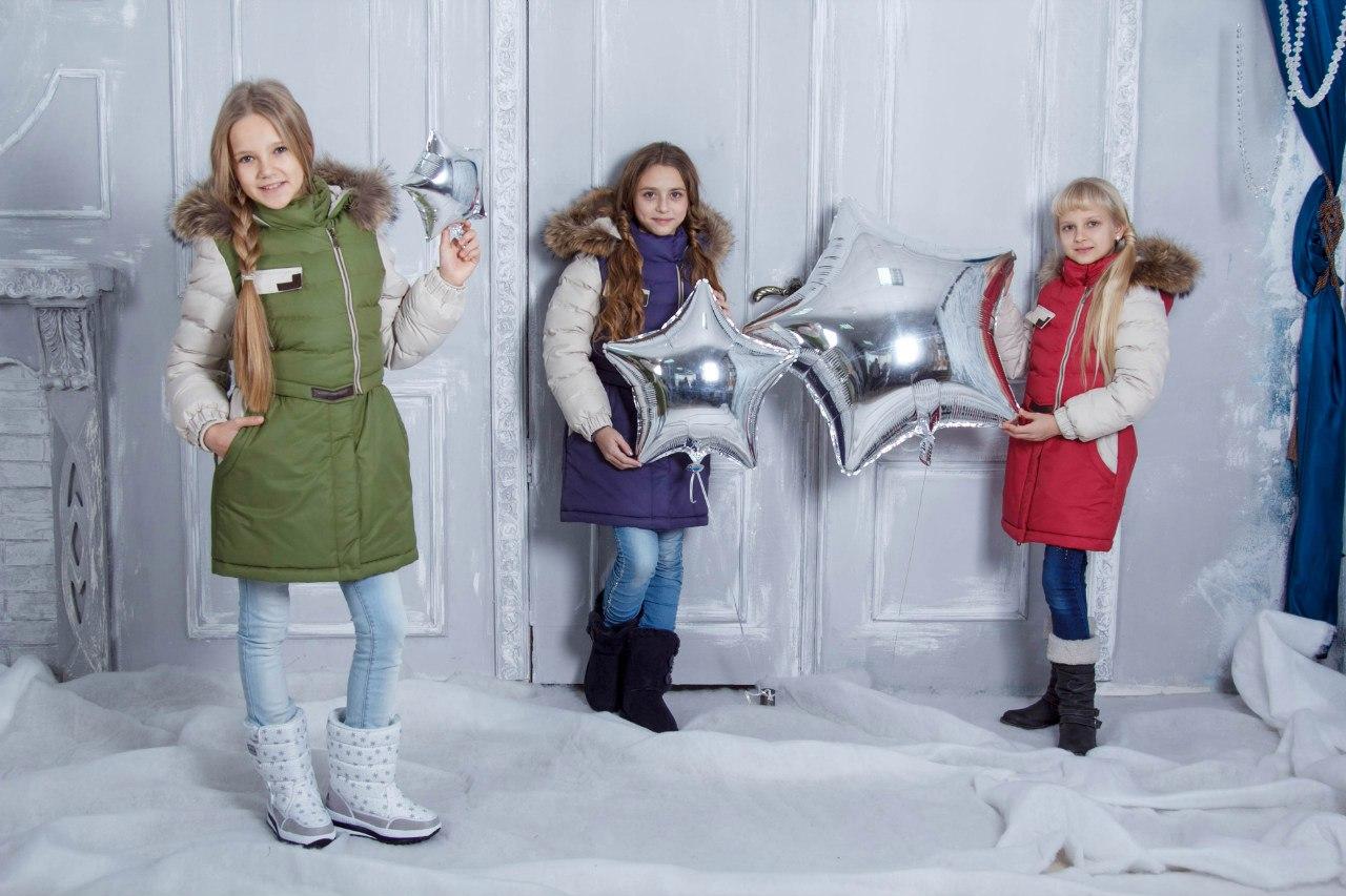 девочки в пальто gnk