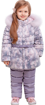 Пальто для девочки З-693