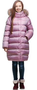 Пальто для девочки З-696