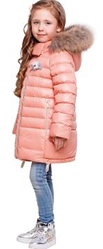 Пальто для девочки З-692