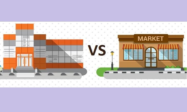 как бороться с сетевыми магазинами