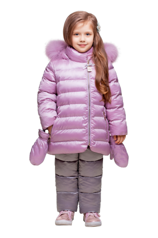 зимний костюм для девочки З-718/ЗС-719