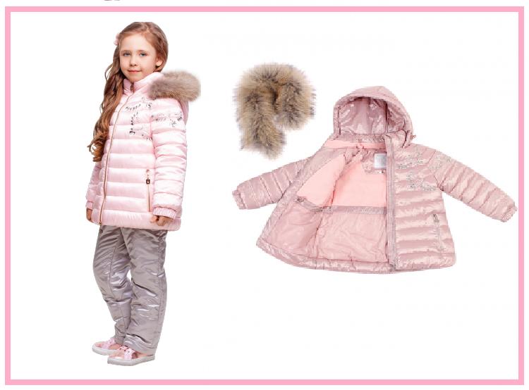 детские зимние костюмы