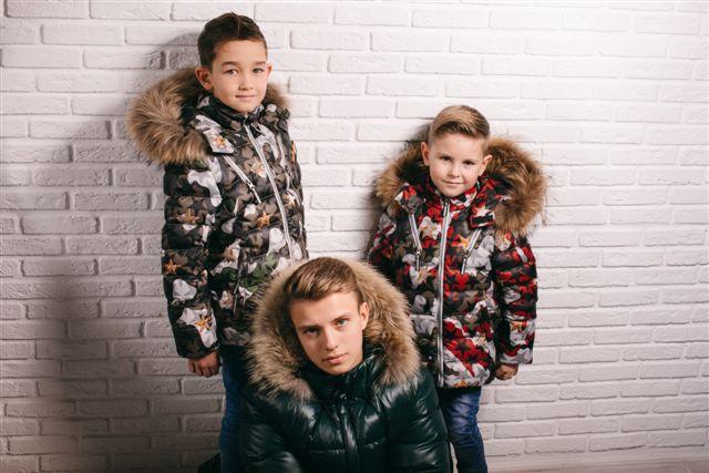 детские зимние куртки для детей