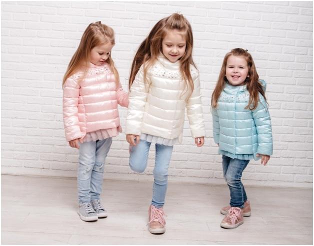 детские весенние куртки gnk