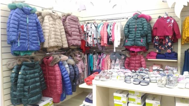 детская одежда - ассортимент магазина