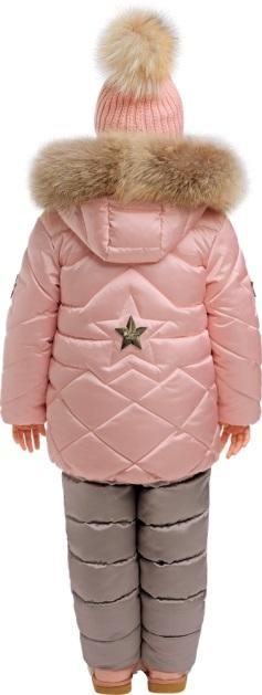 деткий зимний костюм для девочки gnk