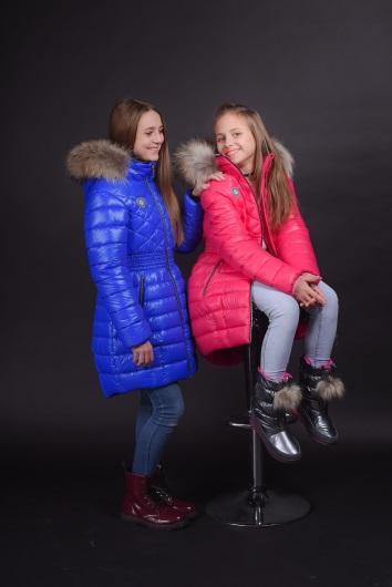 детские зимние пальто GnK