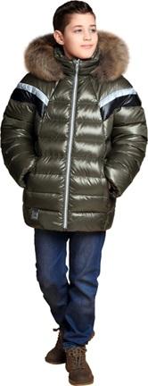 детская лаковая куртка для мальчика