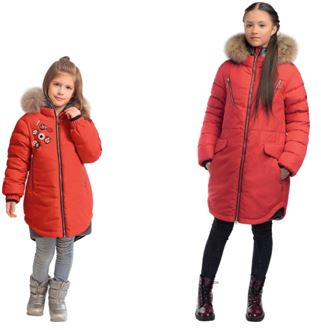 зимнее пальто для девочек gnk фото