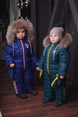 детские зимние комбинезоны оптом