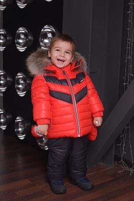 детская зимняя куртка и брюки gnk фото