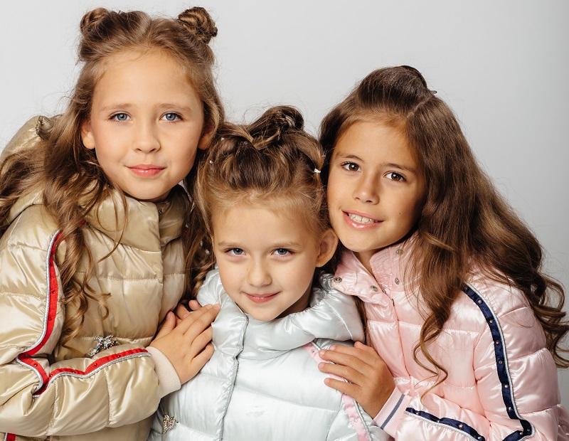 весенние детские куртки gnk фото