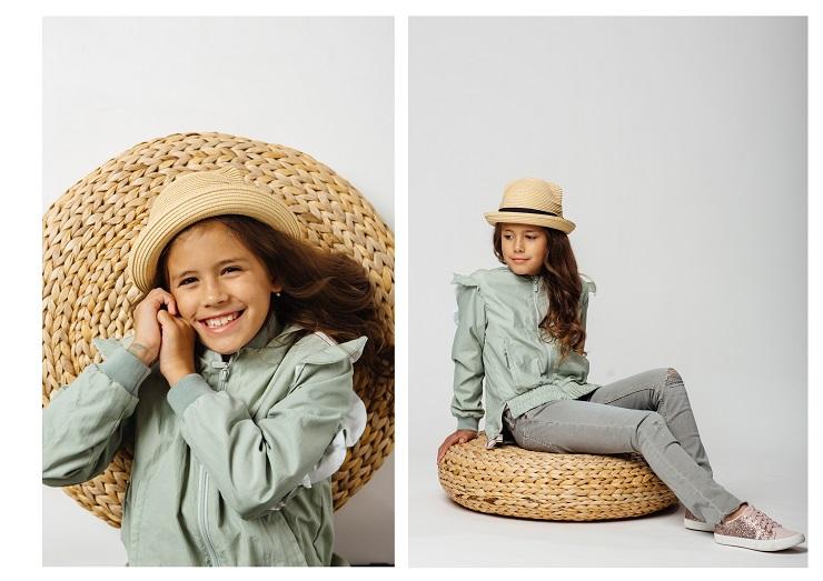 воланы в детской одежде фото