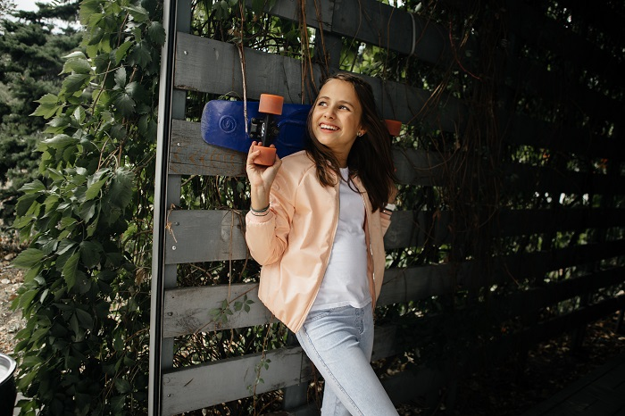 Ветровка для девочки С-642 фото