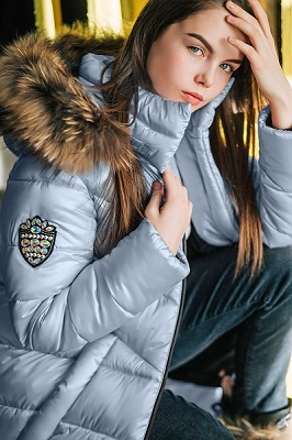 Пальто для девочки ЗС-826 фото