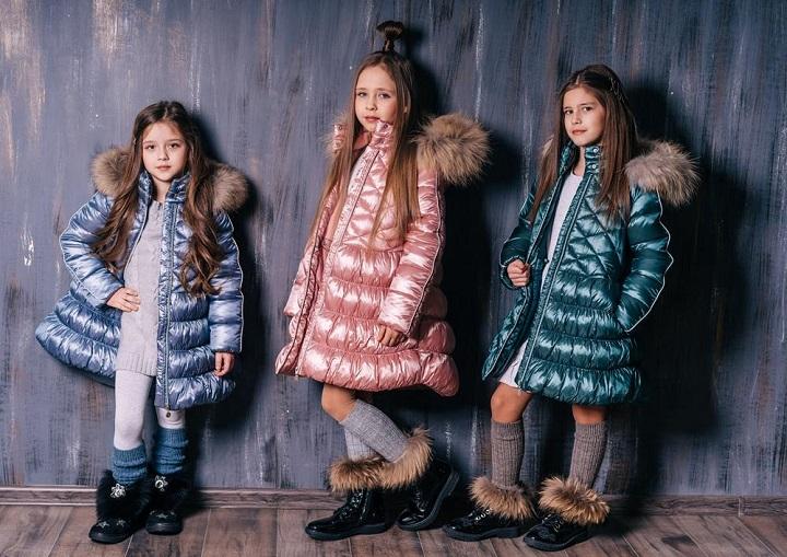 Пальто для девочек ЗС-819 фото