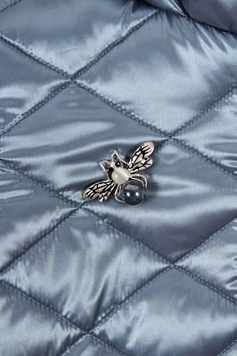 Декор пальто для девочки ЗС-819 фото