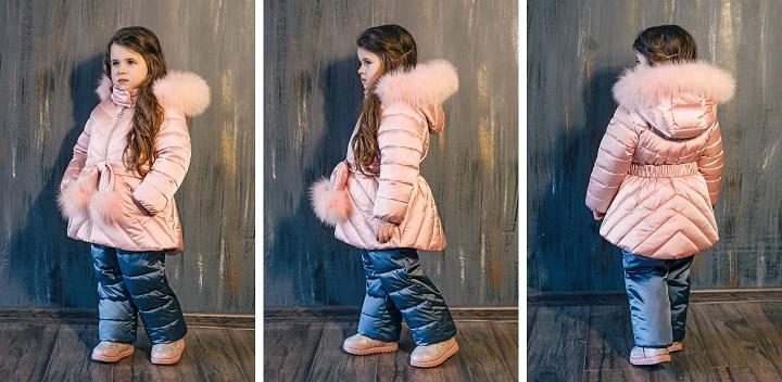 зимний костюм для девочки З-797/ЗС-798 фото