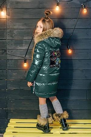 пальто для девочки з-820
