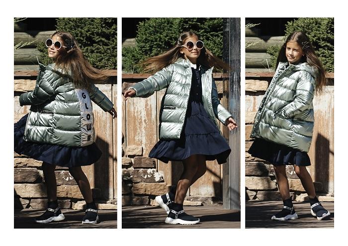 куртка для девочки с-666