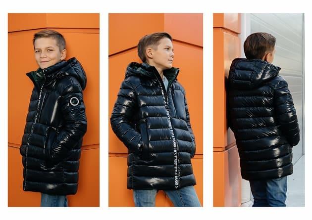 куртка для мальчика GnK С-678 фото