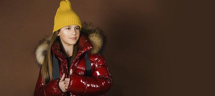 Зимнее пальто для девочки ЗС-880