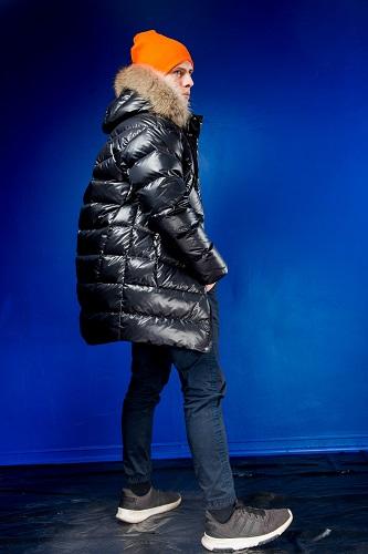 Куртка для мальчика З-889 черная фото