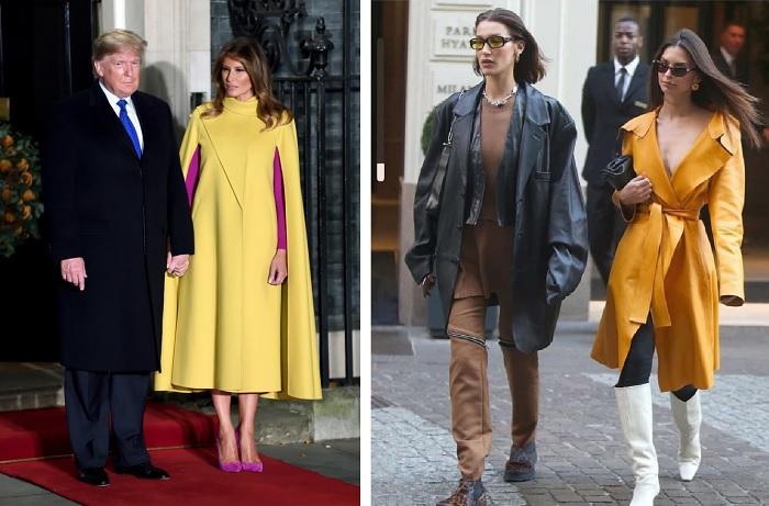 желтый в моде