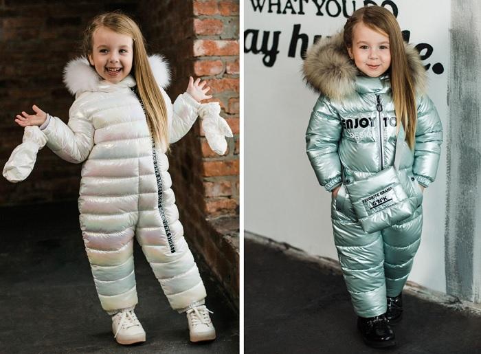 детская металлизированная одежда gnk