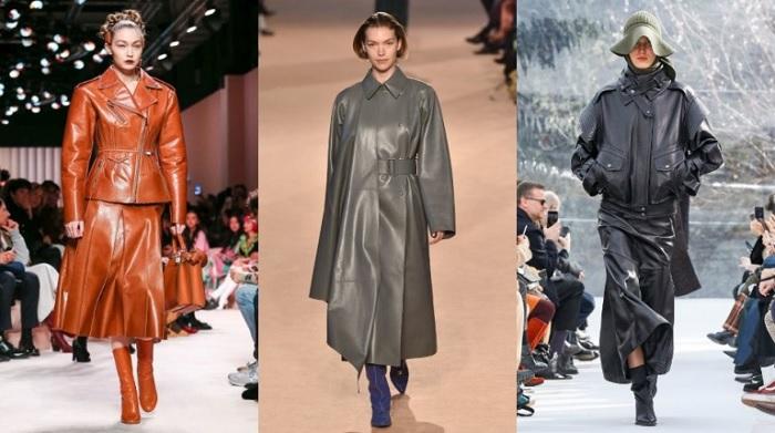 кожаные изделия в моде