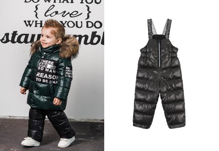 детский зимний костюм gnk