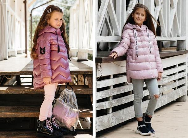 детская верхняя одежда розового цвета gnk