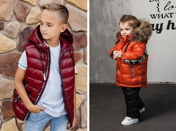 детская верхняя одежда красных оттенков gnk