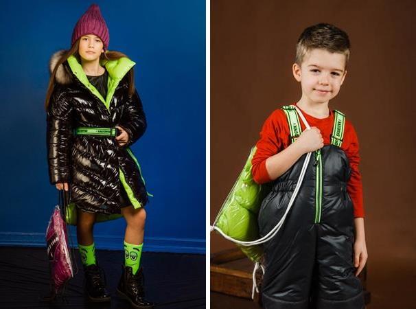 детская верхняя одежда ярких оттенков gnk