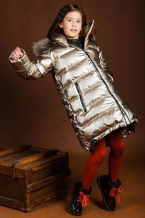 Пальто для девочки З-871