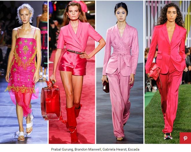 розовый цвет в моде фото