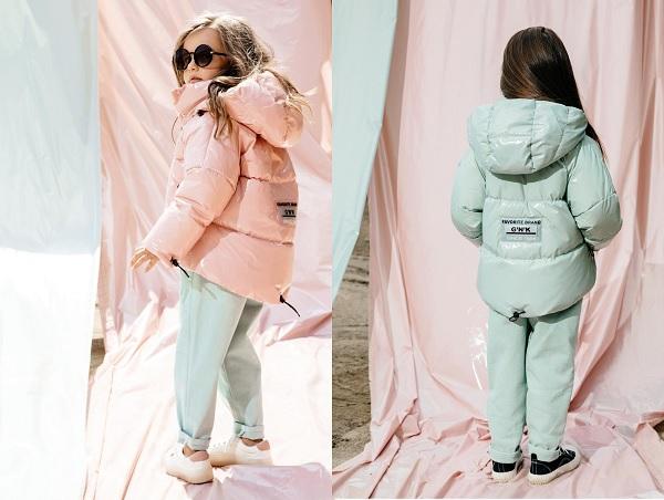 куртка для девочки с-707