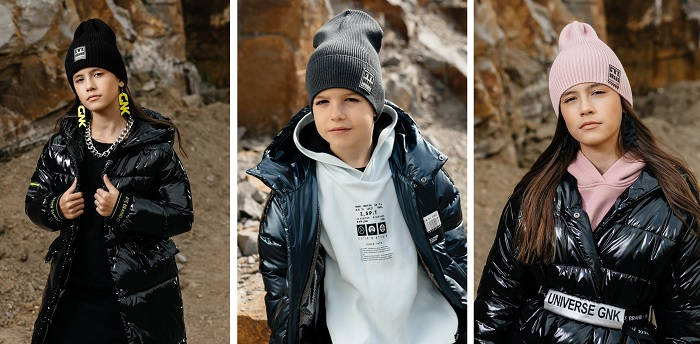 детские шапки gnk