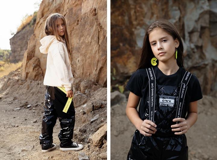 демисезонные брюки для девочки С-731