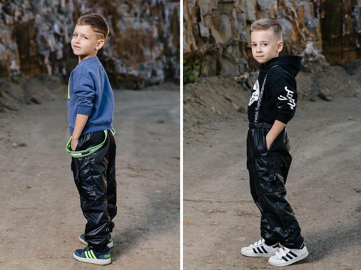 демисезонные брюки для мальчика С-729