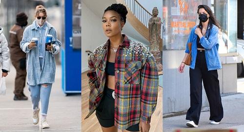 пальто рубашка в моде
