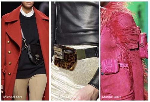 поясные сумки в моде
