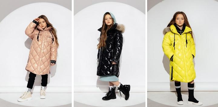 зимнее пальто для девочки ЗС-919