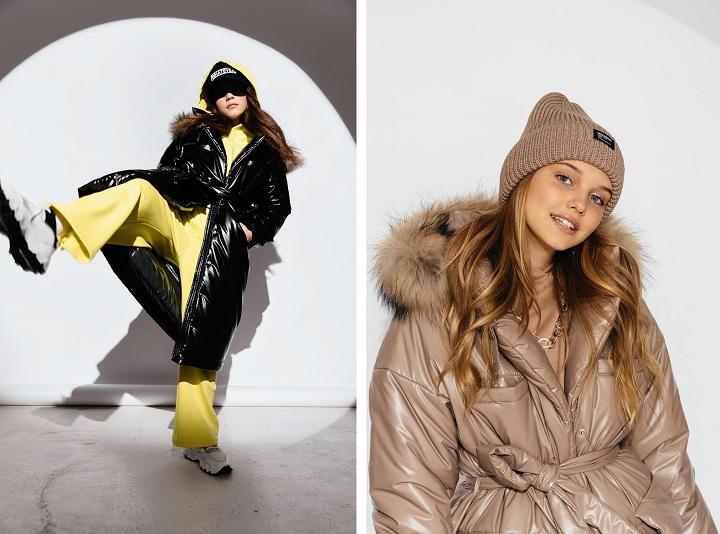 зимнее пальто для девочки ЗС-926