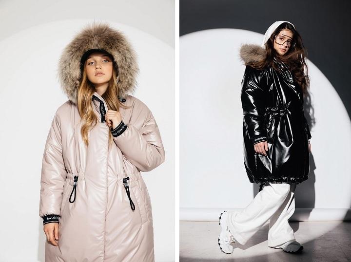 Зимнее пальто для девочки ЗС-921