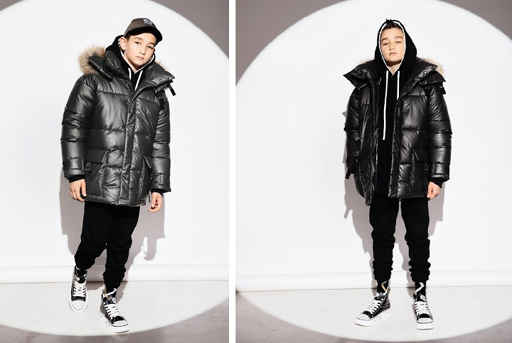 Зимняя куртка для мальчика ЗС-932