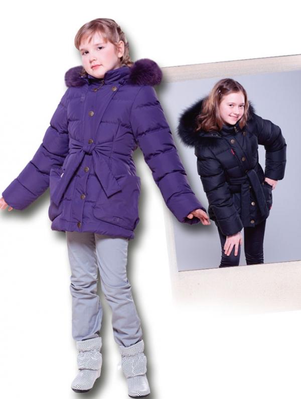 Детские зимние куртки для девочек (зэ