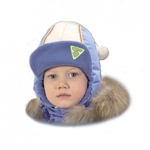 шапка с меховым помпоном детские | Купить детские